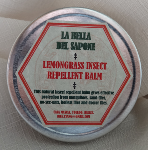 Lemongrass Insect Repellent Balm.