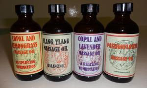 Massage Oils.