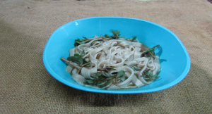 Cooked Noodles.