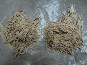 Fresh Chocolate Pasta Noodles.